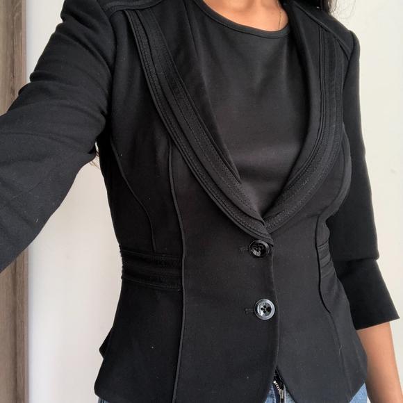 White House Black Market Jackets & Blazers - White house black market black fitted blazer 0